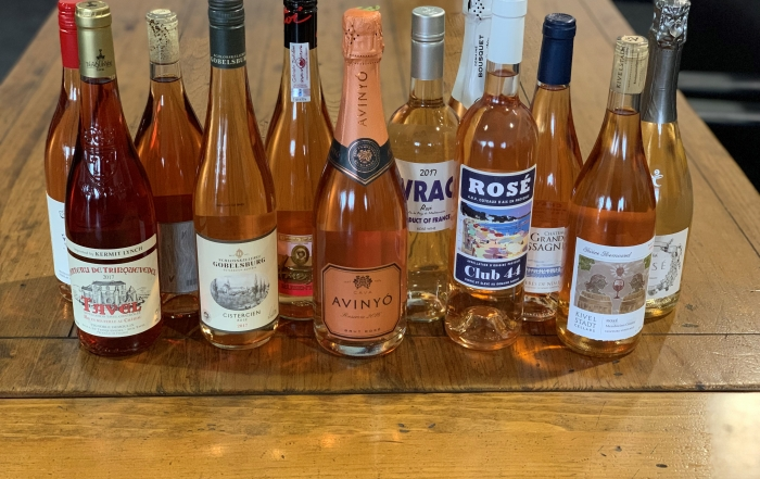 Spring Rosé Tasting at SEABA March 20th, 2019